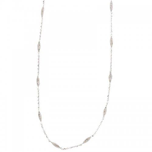 Collana Donna in Oro Bianco 803321724142
