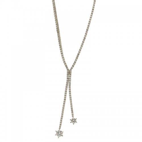 Collana Donna in Oro Bianco 803321711477