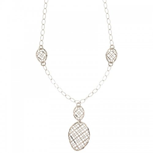 White Gold Woman Necklace 803321734657