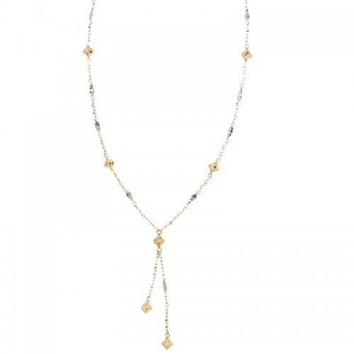 Collana Donna in Oro Bianco e Giallo 803321711206