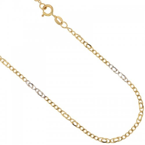 Yellow and White Gold Men's Necklace 803321700270