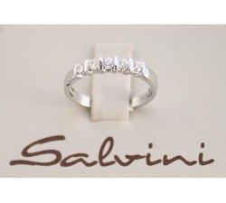 Anello Veretta SALVINI in oro bianco e diamanti Ct 0,30 Ref. 20000995