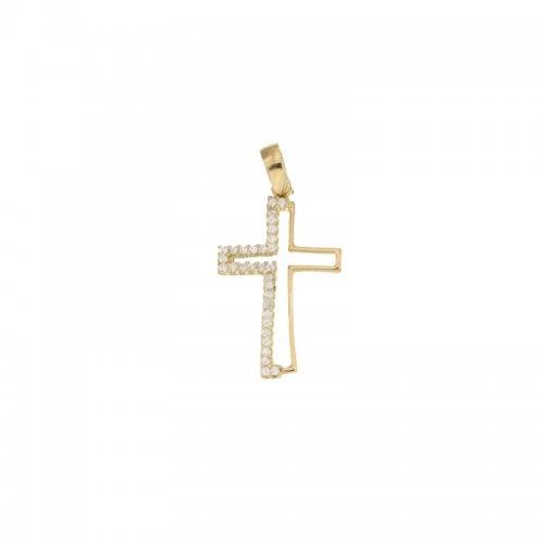 Croce da donna in Oro Giallo 803321725476