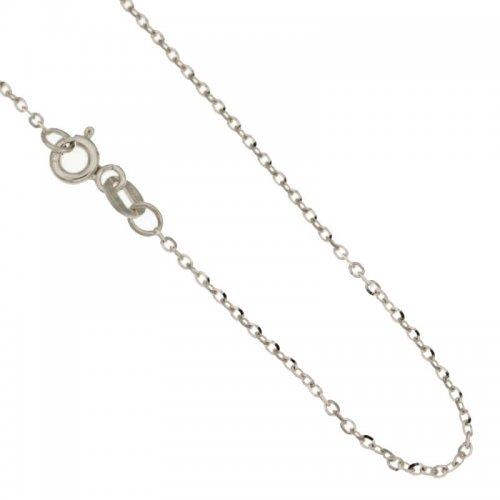 Collana Donna in Oro Bianco 803321710805