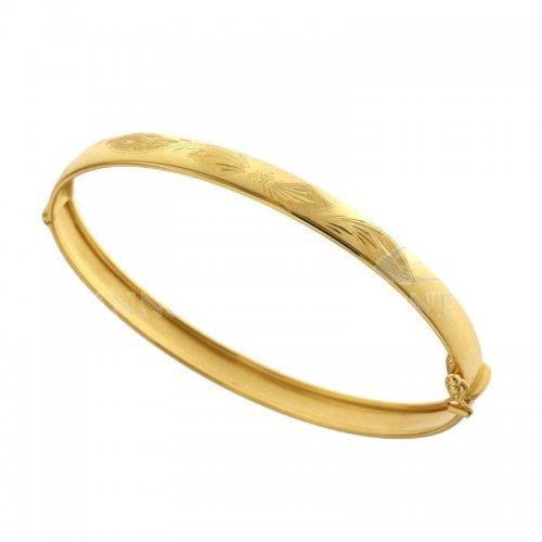 Bracciale rigido donna in oro giallo 803321728499