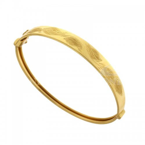 comprare on line 80d36 f5f07 Bracciale rigido donna in oro giallo 803321728495 - GioielleriaLucchese.it