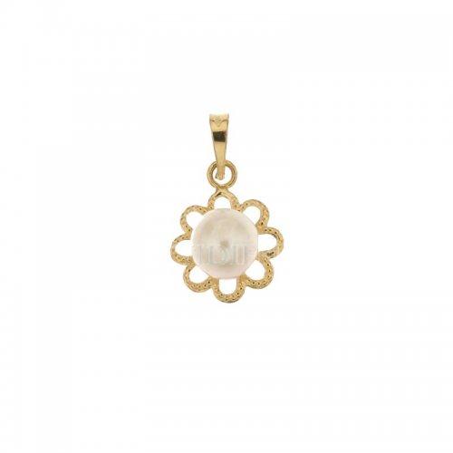 Ciondolo oro giallo con perla 803321705512