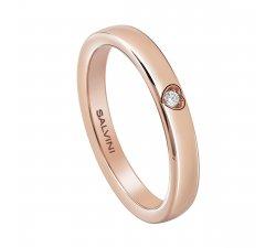 Salvini wedding ring Rose gold Battito 20078044