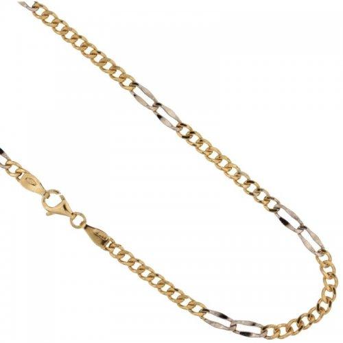 Collana Uomo in Oro Giallo e Bianco 803321717452