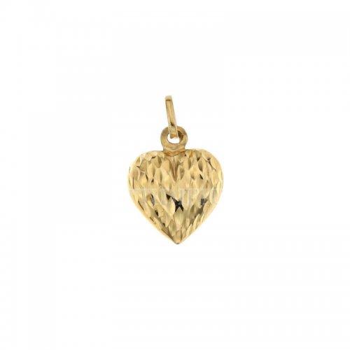 Ciondolo cuore oro giallo 803321711666