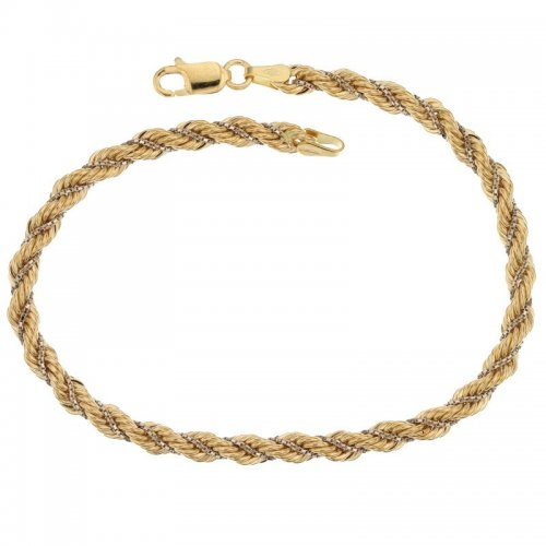 Two-tone gold women's bracelet 803321729860