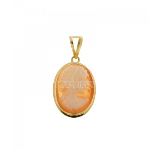 Yellow gold cameo pendant 803321706310