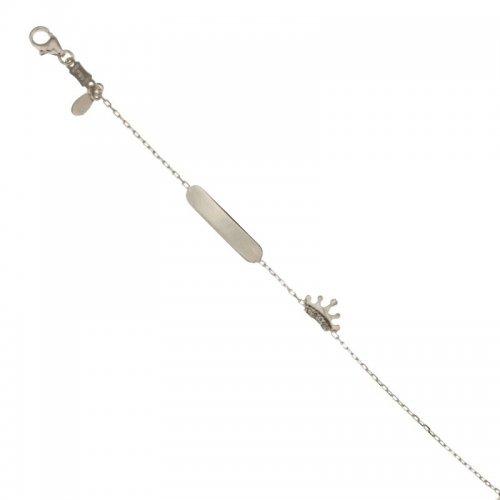 White gold girl's bracelet 803321721709