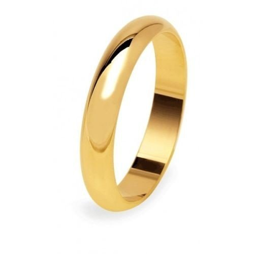 UNOAERRE Wedding Ring 5 grams Yellow Gold Classic Wide Band