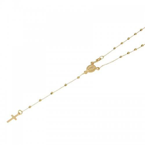 Collana Rosario Oro Giallo Madonna Miracolosa 803321716822