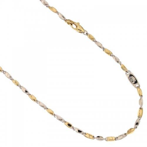 Collana Uomo in Oro Giallo e Bianco 803321717583