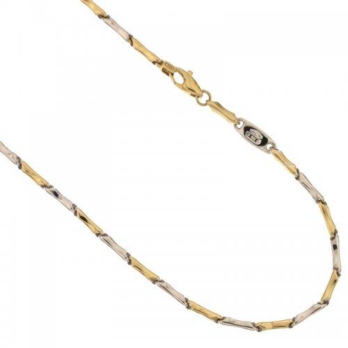 Collana Uomo in Oro Giallo e Bianco 803321717667