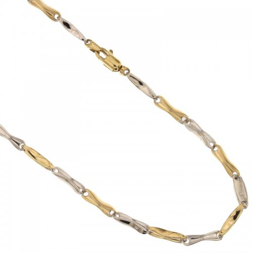 Collana Uomo in Oro Giallo e Bianco 803321717885