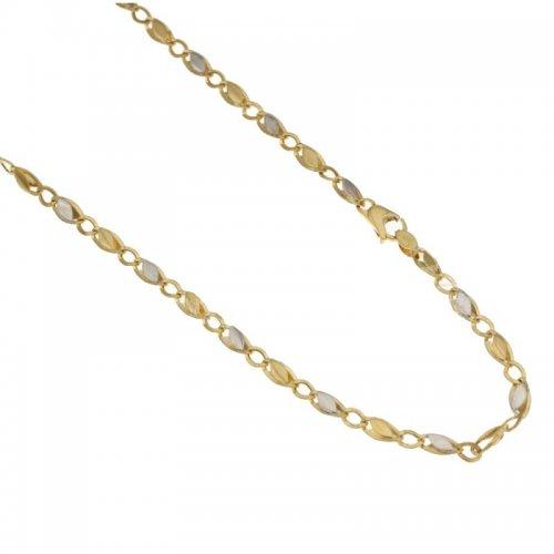 Collana Uomo in Oro Giallo e Bianco 803321718280