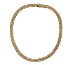 Collana Donna in Oro Giallo e Bianco 803321728429