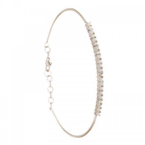 White gold women's bracelet 803321735926
