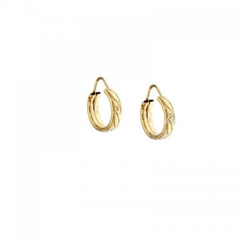 Women's Yellow Hoop Earrings 803321705723
