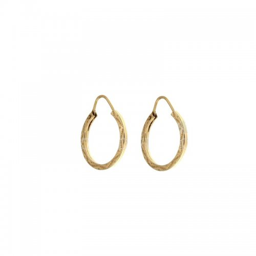 Women's Yellow Hoop Earrings 803321702831