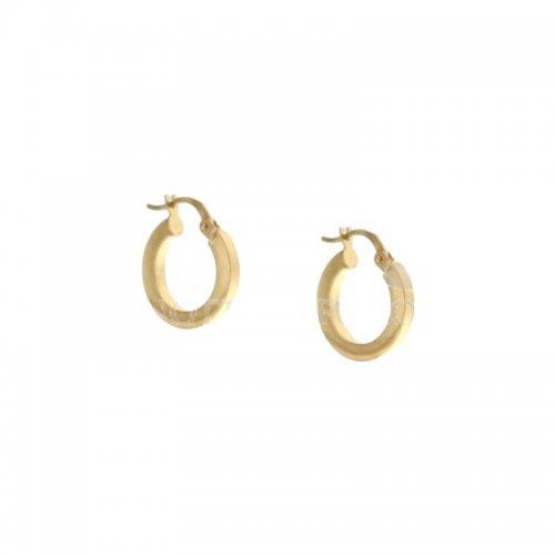 Women's Yellow Hoop Earrings 803321727711