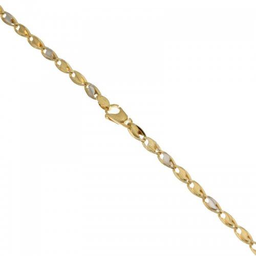 Bracciale Uomo in Oro Giallo e Bianco 803321718185