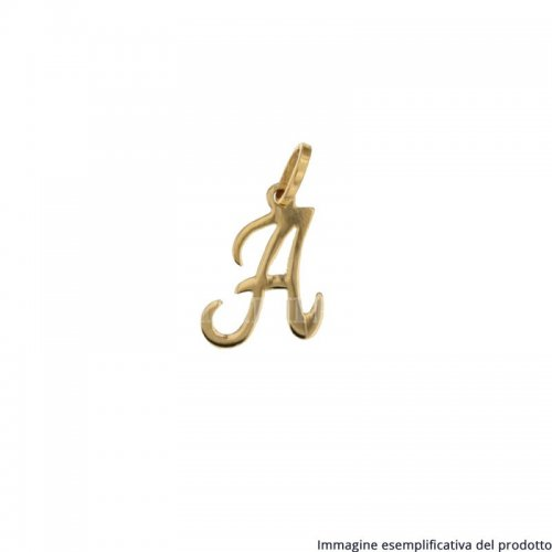 Initial Letter Name Pendant Yellow Gold 803321726501