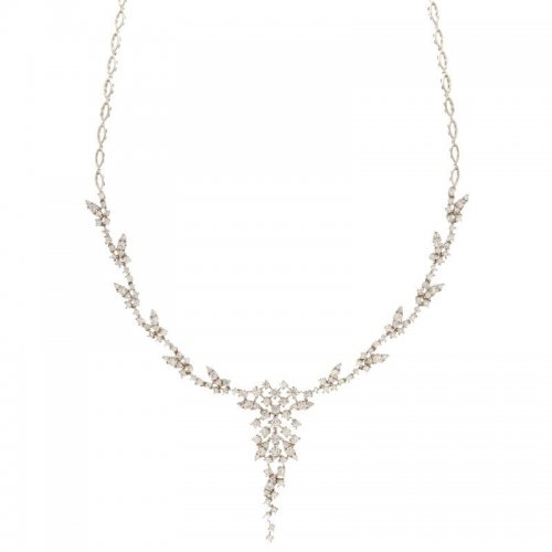 Women's Tennis Necklace White Gold 803321734850