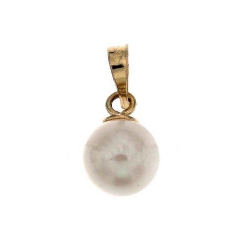 Ciondolo perla oro giallo 803321703670