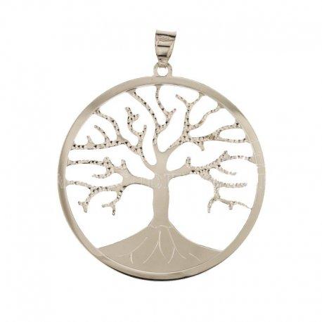Ciondolo albero della vita oro bianco 803321700978