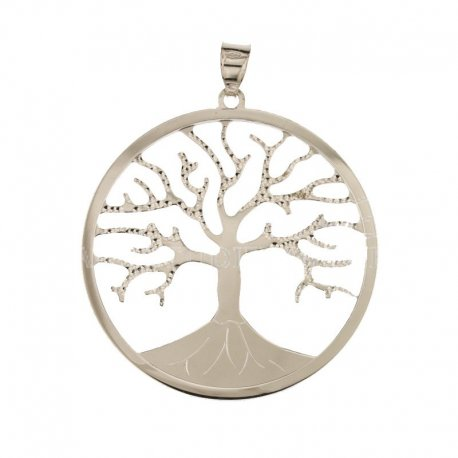 Tree of life pendant white gold 803321700978