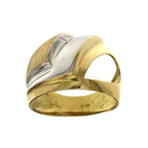 Yellow White Gold Woman Ring 803321712989