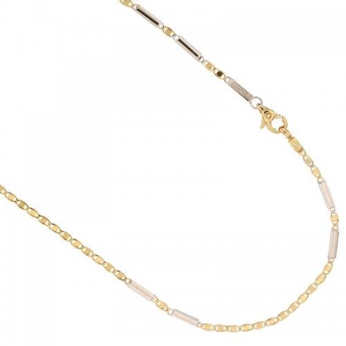 Collana Uomo in Oro Giallo e Bianco 803321735555