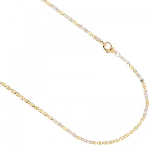 Collana Uomo in Oro Giallo e Bianco 803321735557