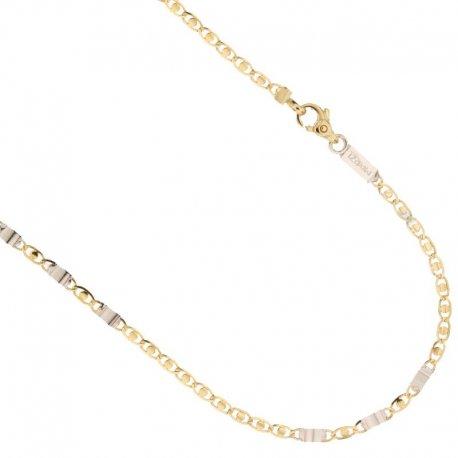 Collana Uomo in Oro Giallo e Bianco 803321736596