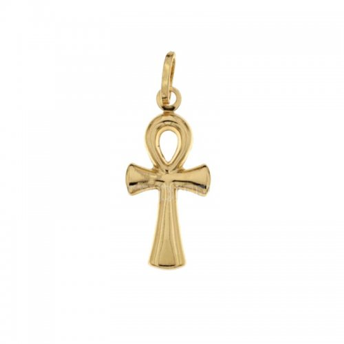 Egyptian Cross in Yellow Gold 803321700434