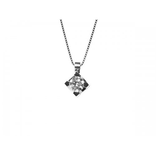 Collana Promesse Gioielli Donna Punto Luce Diamante PPLX