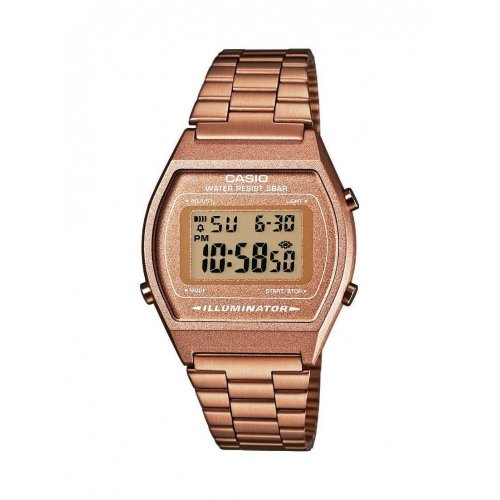 CASIO B640WC-5AEF Vintage watch in bronze PVD steel