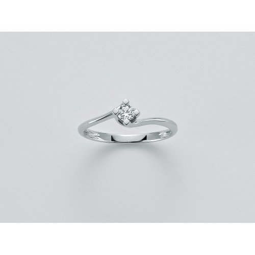 Yukiko solitaire woman ring white gold LID5180Y-005G7
