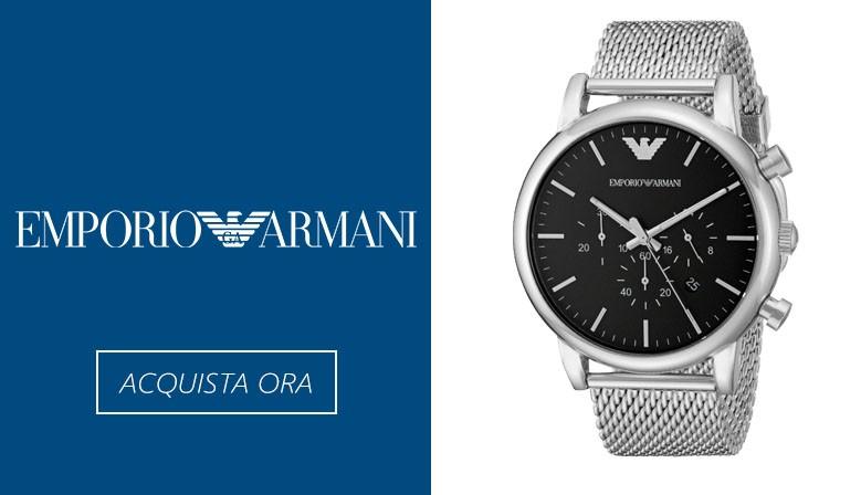 Acquista ora gli orologi Emporio Armani